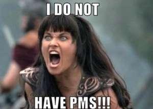 Symptomen PMS